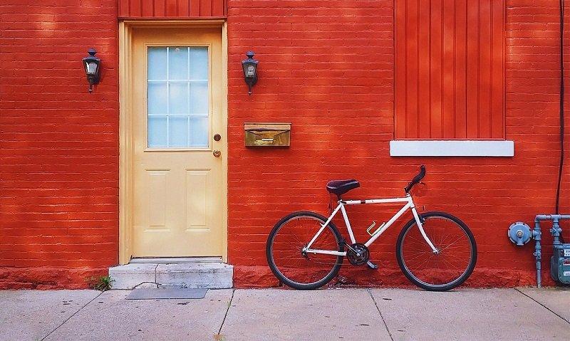 Rower pod domem