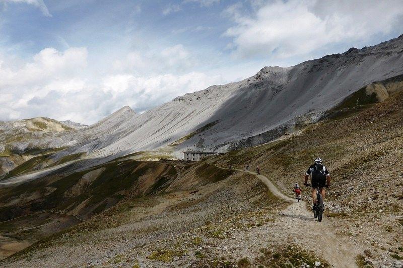 Rowery górskie na szlaku