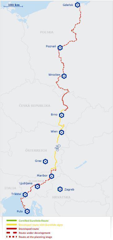 Trasa rowerowa EuroVelo 9