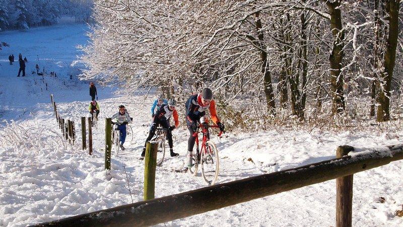 Wycieczka rowerowa zimą