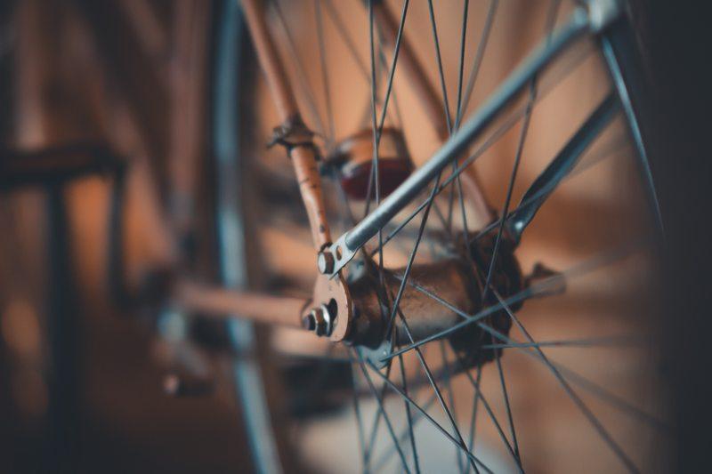 Zardzewiały rower
